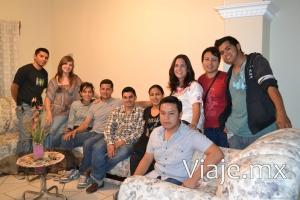 Reunión con algunos amigos en Ciudad Guzmán