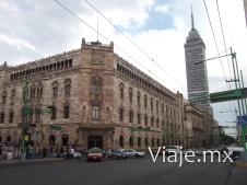 Palacio de los Correos y Torre Latinoamericana