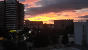 Vista da janela do meu apartamento – Málaga/13