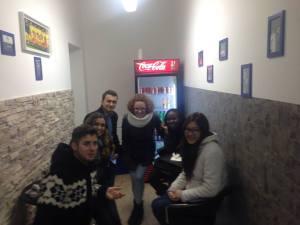 Marina e os amigos estrangeiros