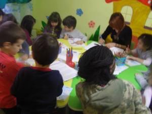 As atividades no jardim de infância