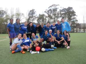 Time de futebol feminino do Bruce Hall